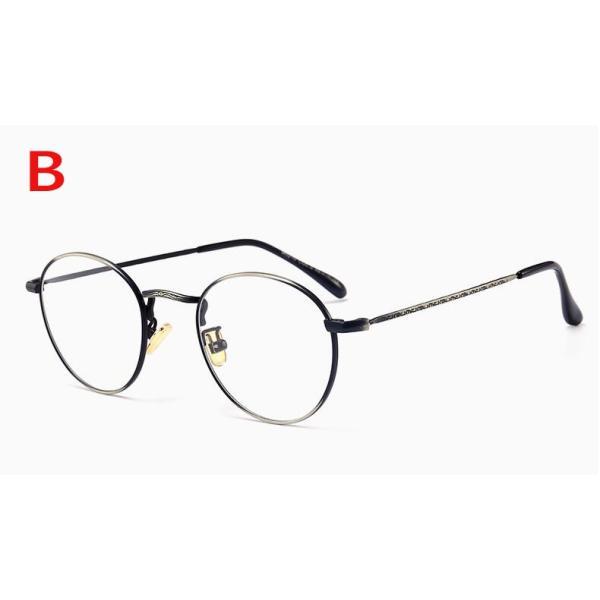 PCメガネ 丸型 ブルーライト カット メガネ 度なし おしゃれ パソコン用メガネ ブルーライトカット PC メガネ PC眼鏡 PCメガネ|24store|03