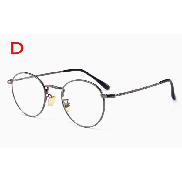 PCメガネ 丸型 ブルーライト カット メガネ 度なし おしゃれ パソコン用メガネ ブルーライトカット PC メガネ PC眼鏡 PCメガネ|24store|05