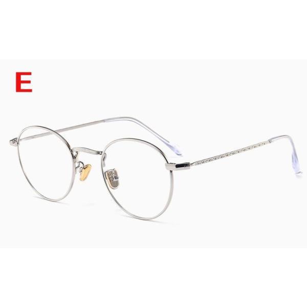PCメガネ 丸型 ブルーライト カット メガネ 度なし おしゃれ パソコン用メガネ ブルーライトカット PC メガネ PC眼鏡 PCメガネ|24store|06