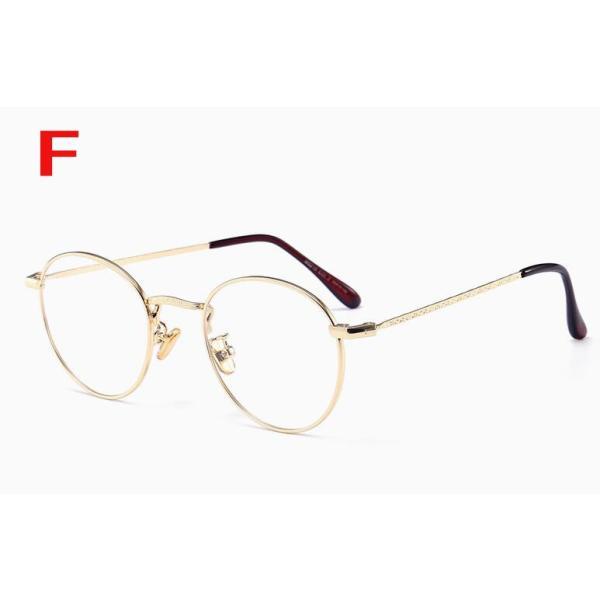PCメガネ 丸型 ブルーライト カット メガネ 度なし おしゃれ パソコン用メガネ ブルーライトカット PC メガネ PC眼鏡 PCメガネ|24store|07