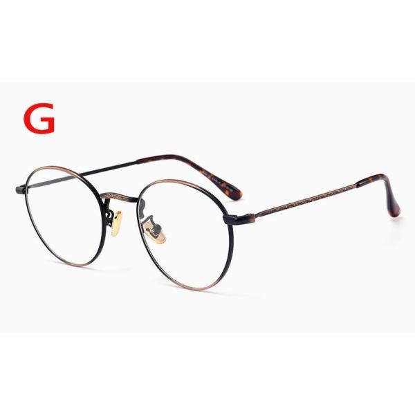 PCメガネ 丸型 ブルーライト カット メガネ 度なし おしゃれ パソコン用メガネ ブルーライトカット PC メガネ PC眼鏡 PCメガネ|24store|08