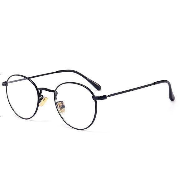 PCメガネ 丸型 ブルーライト カット メガネ 度なし おしゃれ パソコン用メガネ ブルーライトカット PC メガネ PC眼鏡 PCメガネ|24store|09