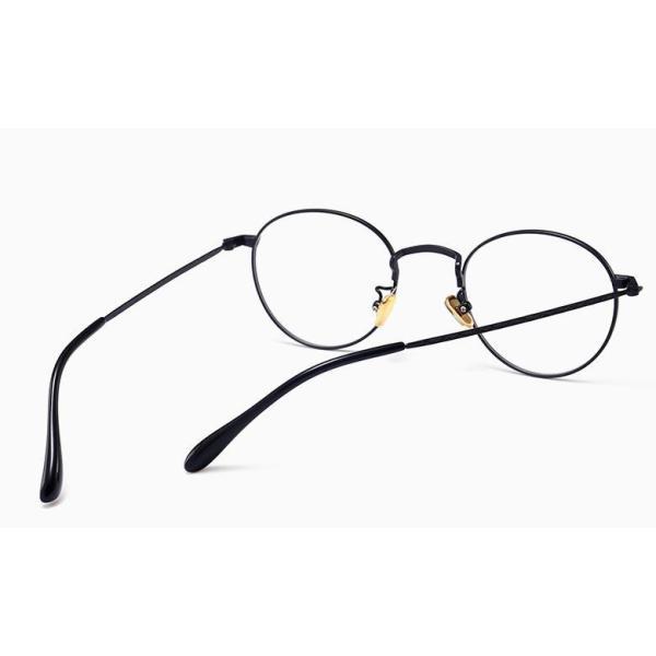 PCメガネ 丸型 ブルーライト カット メガネ 度なし おしゃれ パソコン用メガネ ブルーライトカット PC メガネ PC眼鏡 PCメガネ|24store|10