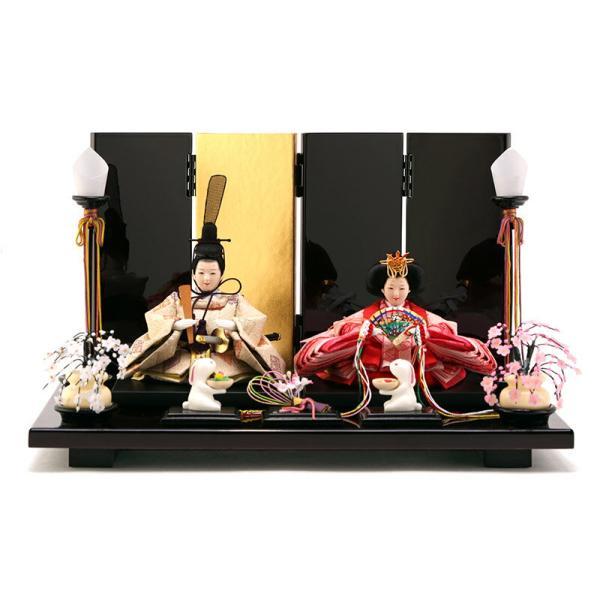 雛人形 ひな人形 親王飾り 平飾り 雛爛漫 h293-fzcp-47st10|2508-honpo