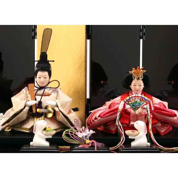 雛人形 ひな人形 親王飾り 平飾り 雛爛漫 h293-fzcp-47st10|2508-honpo|03