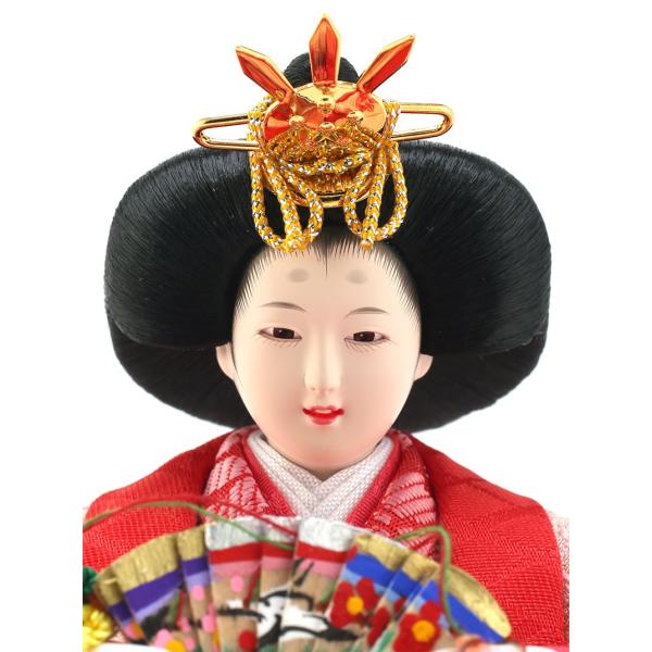 雛人形 ひな人形 親王飾り 平飾り 雛爛漫 h293-fzcp-47st10|2508-honpo|05