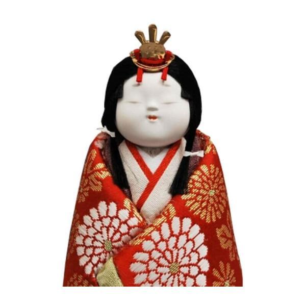 雛人形 幸一光 ひな人形 コンパクト 木目込み ケース飾り 親王飾り 立雛 和泉 正絹 黒塗カブセクモリバックケース 伝統的工芸品 h313-koi-4276|2508-honpo|05