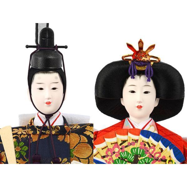 雛人形 ひな人形 コンパクト 吉徳大光 ケース飾り 五人飾り h283-yscp-322293|2508-honpo|04