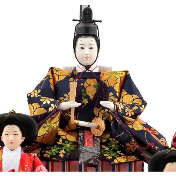 雛人形 ひな人形 コンパクト 吉徳大光 ケース飾り 五人飾り h283-yscp-322293|2508-honpo|05