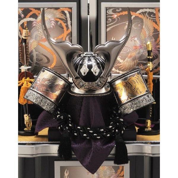 五月人形 吉徳 着用兜飾り 収納飾り 着用之御兜 h265-yscp-536915|2508-honpo|04