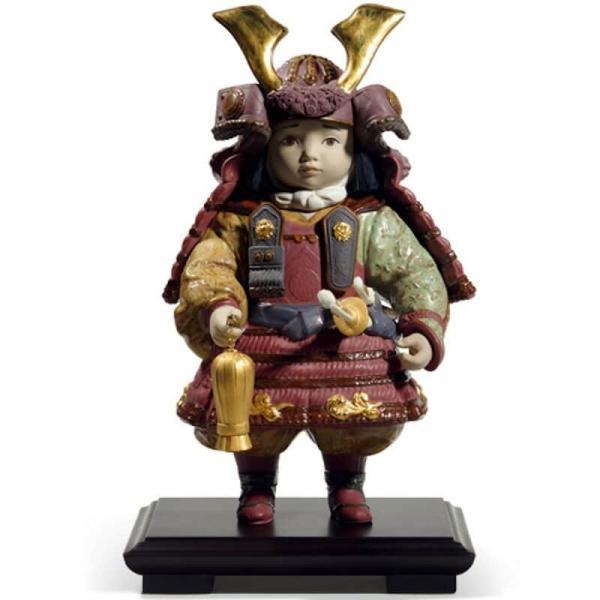 リヤドロ 五月人形 子供大将飾り 武者人形 Lladro 磁器人形 若武者60周年記念モデル フルセット 限定3500体 h315-01013045-fs|2508-honpo|02