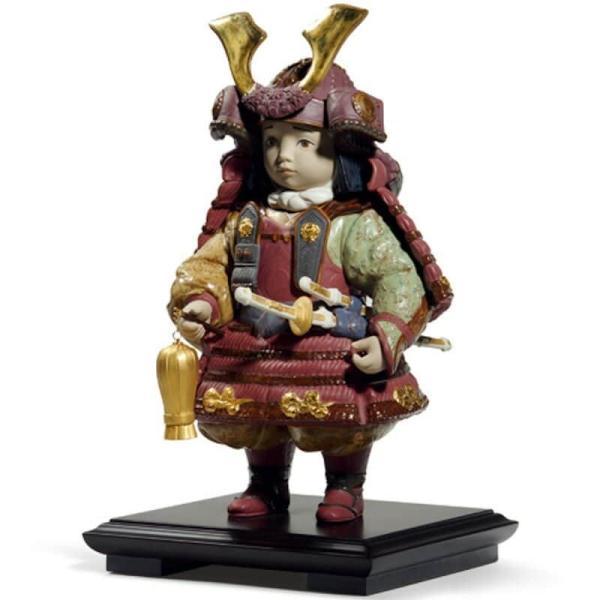 リヤドロ 五月人形 子供大将飾り 武者人形 Lladro 磁器人形 若武者60周年記念モデル フルセット 限定3500体 h315-01013045-fs|2508-honpo|03