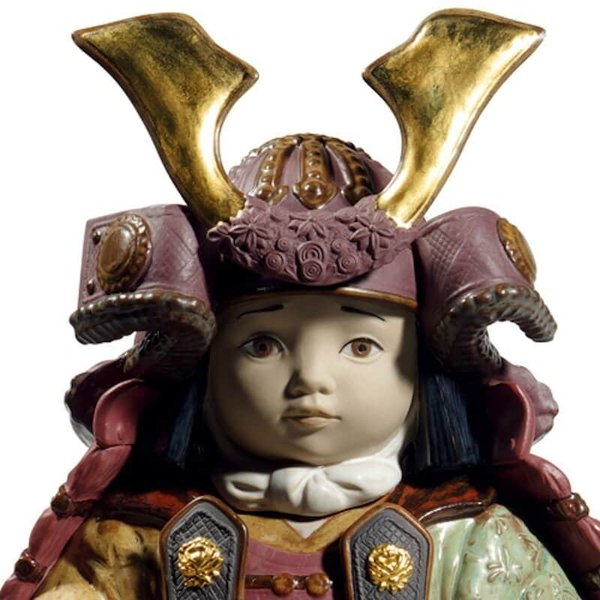 リヤドロ 五月人形 子供大将飾り 武者人形 Lladro 磁器人形 若武者60周年記念モデル フルセット 限定3500体 h315-01013045-fs|2508-honpo|04