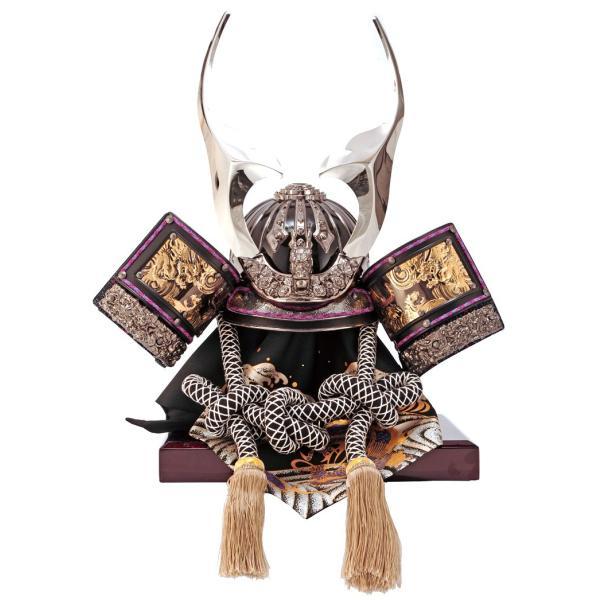 五月人形 着用兜飾り 収納飾り 昴 貫先ブロンズ h275-sb-sbr-ns15as 2508-honpo 04