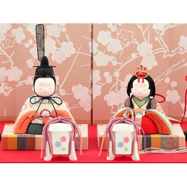 ひな人形 雛人形 コンパクト 木目込み 幸一光 収納飾り 親王飾り 和works とのとひめ 桐箱 h283-koi-miww100|2508-honpo|03