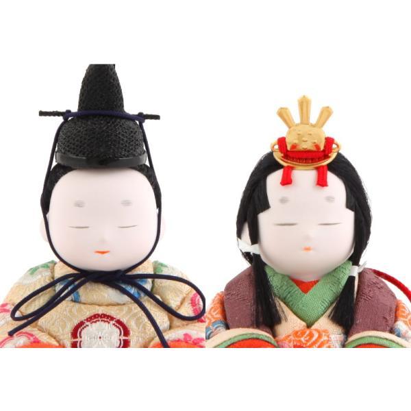 ひな人形 雛人形 コンパクト 木目込み 幸一光 収納飾り 親王飾り 和works とのとひめ 桐箱 h283-koi-miww100|2508-honpo|04