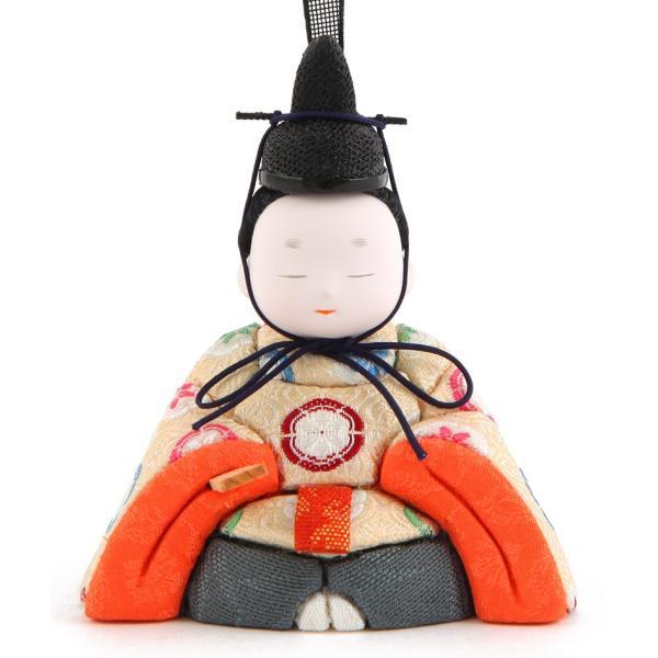 ひな人形 雛人形 コンパクト 木目込み 幸一光 収納飾り 親王飾り 和works とのとひめ 桐箱 h283-koi-miww100|2508-honpo|05