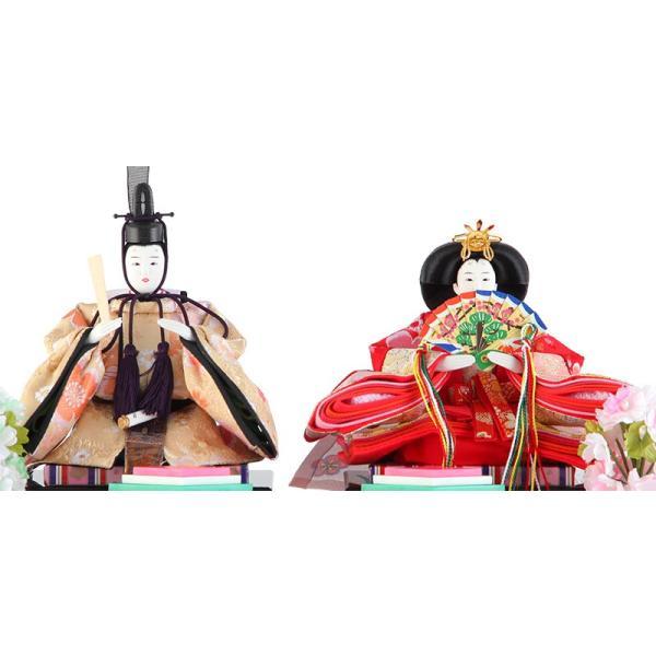 雛人形 コンパクト ひな人形 雛 ケース飾り 親王飾り 藤翁作 みゆき アクリルケース オルゴール付 h303-fn-163-308nr|2508-honpo|03