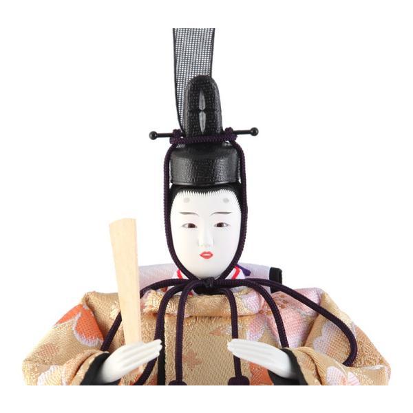 雛人形 コンパクト ひな人形 雛 ケース飾り 親王飾り 藤翁作 みゆき アクリルケース オルゴール付 h303-fn-163-308nr|2508-honpo|04