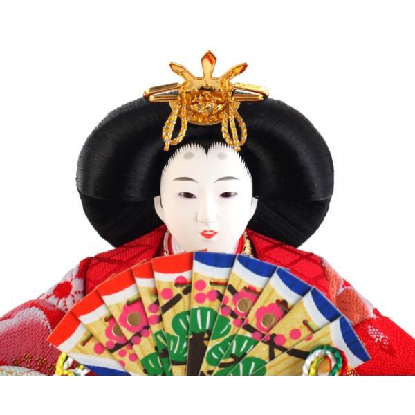 雛人形 コンパクト ひな人形 雛 ケース飾り 親王飾り 藤翁作 みゆき アクリルケース オルゴール付 h303-fn-163-308nr|2508-honpo|05