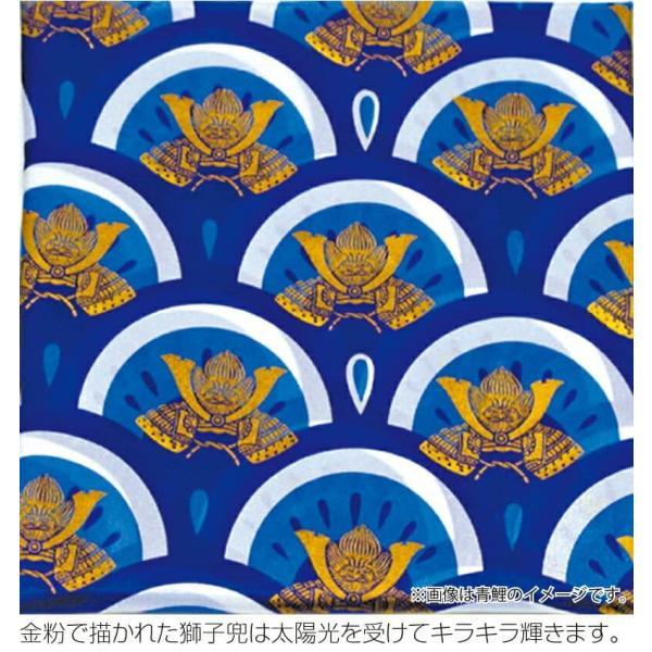 こいのぼり 徳永鯉 鯉のぼり 庭園用 1.5m6点 にわデコセット 大翔 ポリエステルシルキーブライト 家紋・名入れ可能 410-236|2508-honpo|05