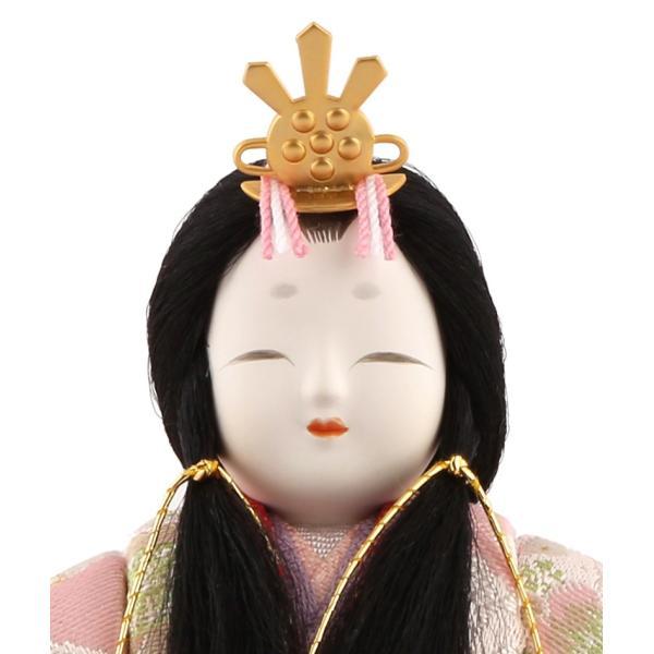 雛人形 一秀 ひな人形 木目込人形飾り コンパクト収納飾り 五人 ...