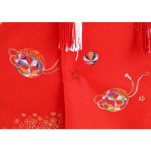 お被布 被布着 お祝着 赤 飾り台付 mo-hihu-red|2508-honpo|03
