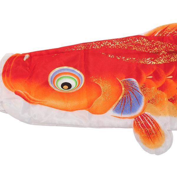 こいのぼり 鯉のぼり ベランダ マンション 2m ファミリー セット 海宝 家紋名前入れ不可 h275-tk-sp-a-20as|2508-honpo|05
