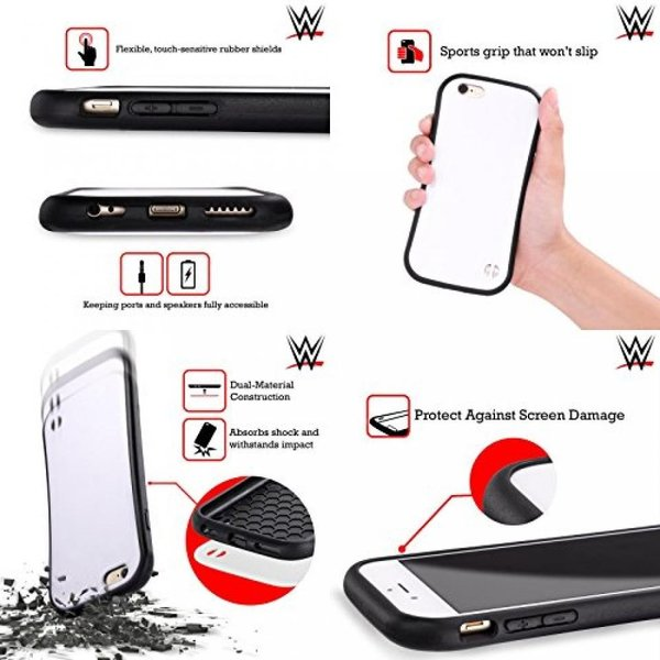 Official WWE Fablulous 2 Carmella Hybrid Case for Apple iPhone 7 Plus / 8 Plus 正規輸入品|2525k|03
