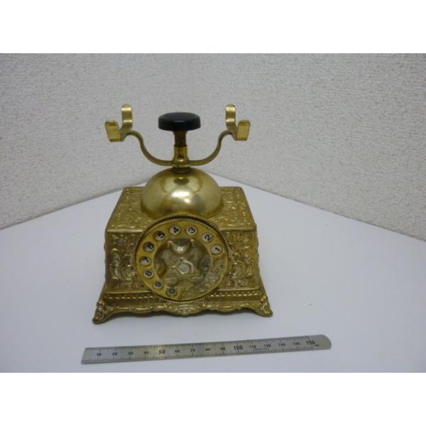 昭和レトロ 電話型電話保留オルゴール 中古|25dou|02
