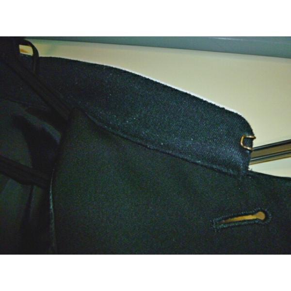 COMME CA DU MODE School Label 黒 ラウンドカラー学生服(学ラン)160A 上下セット 中古 業者クリーニング済み|25dou|13