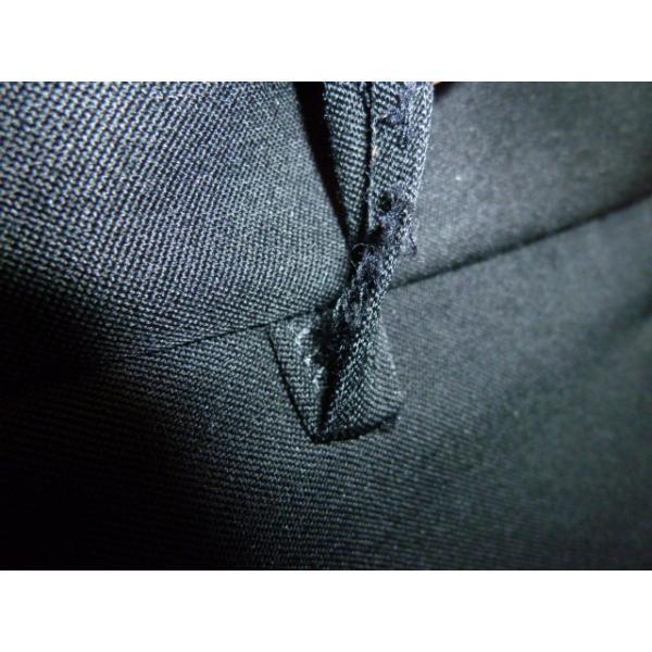 COMME CA DU MODE School Label 黒 ラウンドカラー学生服(学ラン)160A 上下セット 中古 業者クリーニング済み|25dou|15