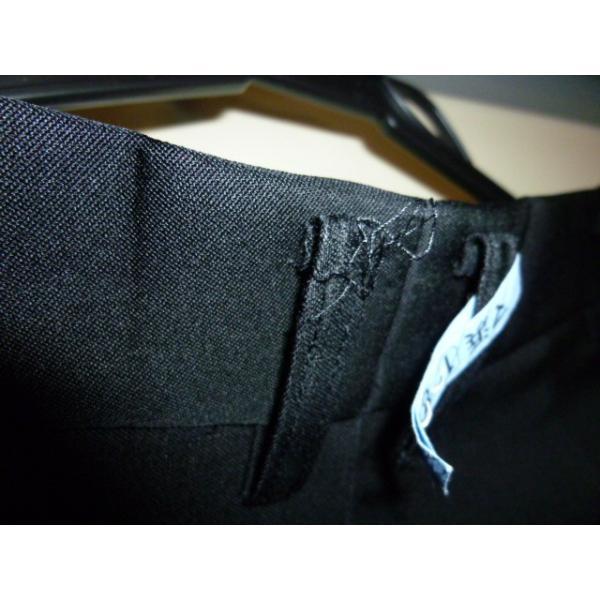 COMME CA DU MODE School Label 黒 ラウンドカラー学生服(学ラン)160A 上下セット 中古 業者クリーニング済み|25dou|16