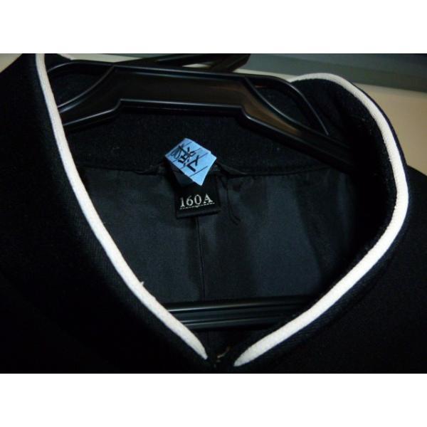 COMME CA DU MODE School Label 黒 ラウンドカラー学生服(学ラン)160A 上下セット 中古 業者クリーニング済み|25dou|07