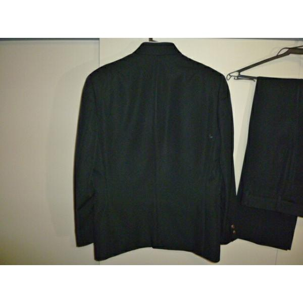 COMME CA DU MODE School Label 黒 ラウンドカラー学生服(学ラン)160A 上下セット 中古 業者クリーニング済み|25dou|09