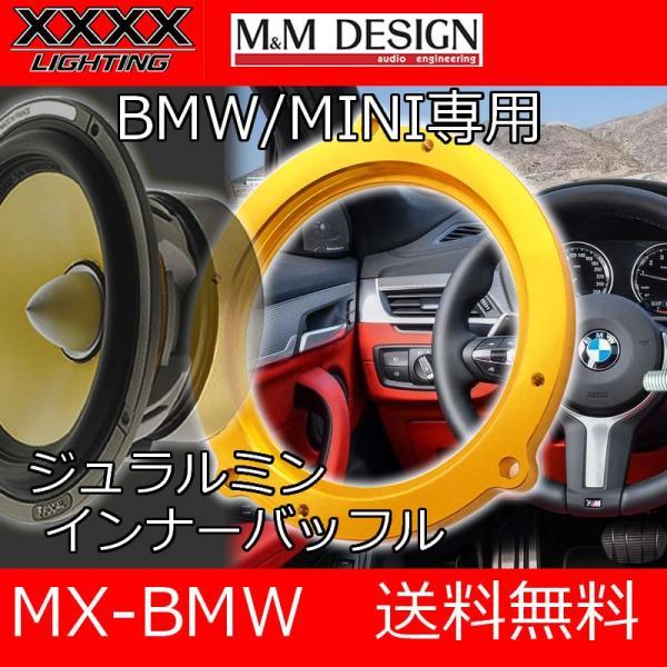 XXXXライティング+M&Mデザイン ジュラルミンインナーバッフル BMW MINI用|25hz-onlineshop
