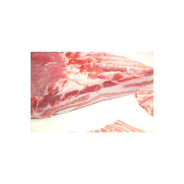 【量り売り】業務用北海道産豚バラ1本ブロック(1250円/kg) ※送料にご注意ください※