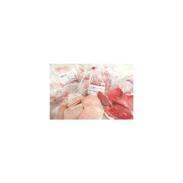 送料無料 豚・牛・鶏 切り落とし詰め合わせセット 1.5kg |2983|02