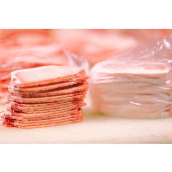 送料無料 アメリカ産 ギガ盛り豚ロース4.5kg(3mmスライス500g×9袋)|2983