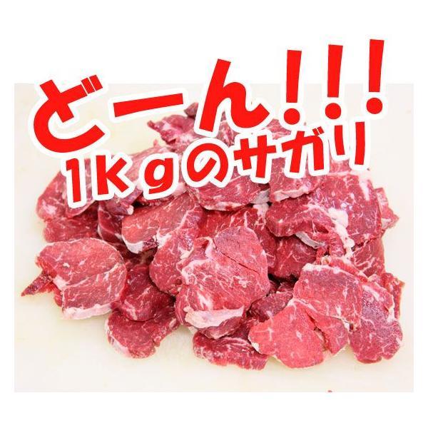 送料無料 お得な牛サガリ500g×2袋  (BBQ バーベキュー)セット|2983|02