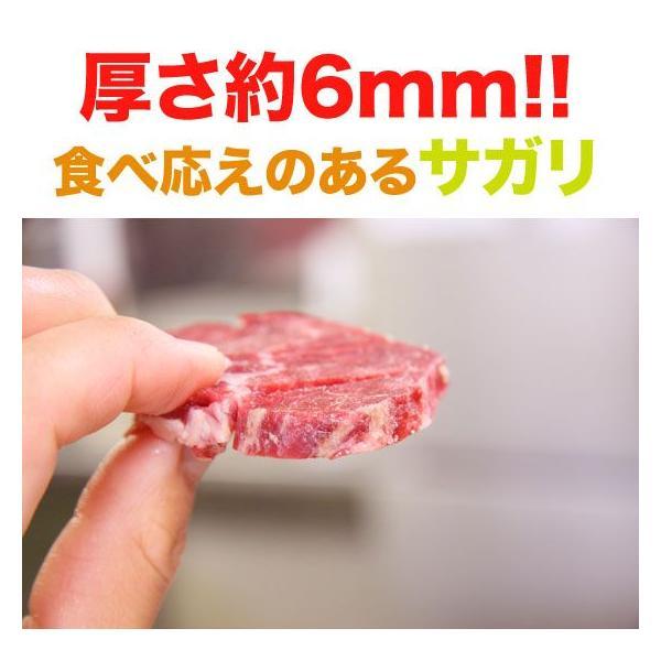 送料無料 お得な牛サガリ500g×2袋  (BBQ バーベキュー)セット|2983|05