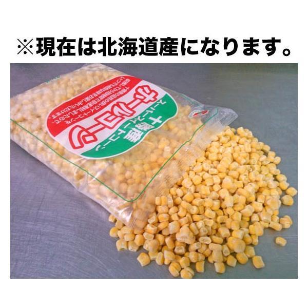 北海道産 冷凍 ホールコーン 業務用1kg|2983