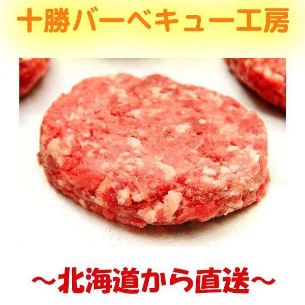 北海道産 ビーフハンバーグステーキ 100g×5個 牛100% ハンバーグ|2983