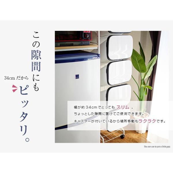 ゴミ箱  分別 キッチン おしゃれ フタ付き 屋外 ダストボックス アピオス 5段  送料無料|2e-unit|03
