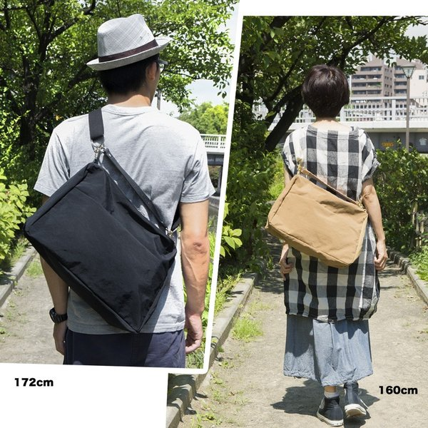 アノニム OBI SHOULDER BAG M 15L ANONYM CRAFTSMAN DESIGN|2m50cm|05