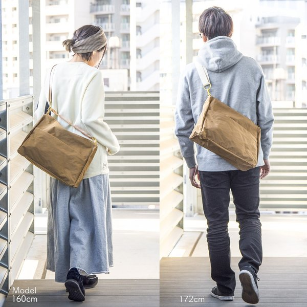 アノニム OBI SHOULDER BAG M 15L ANONYM CRAFTSMAN DESIGN|2m50cm|10