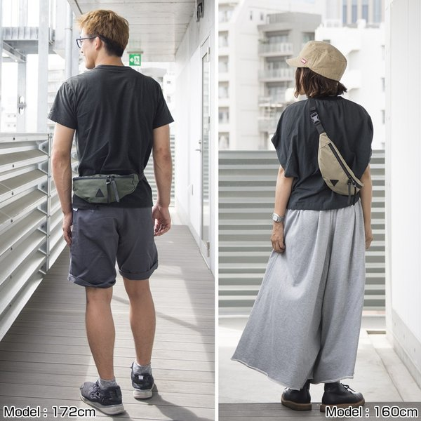 ANONYM CRAFTSMAN DESIGN ボディバッグ KONA FUNNY PACK|2m50cm|12