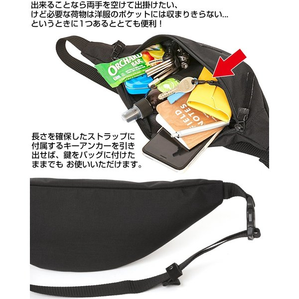 ANONYM CRAFTSMAN DESIGN ボディバッグ KONA FUNNY PACK|2m50cm|05