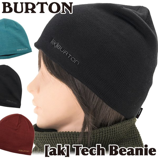 BURTON バートン ビーニー ニット帽 ak Tech Beanie|2m50cm
