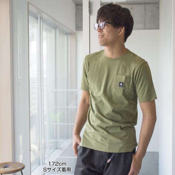 BURTON バートン Tシャツ Colfax Short Sleeve T Shirt|2m50cm|04